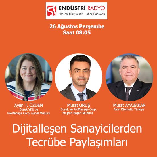 Aisin Otomotiv Türkiye Başkanı Murat Ayabakan: Dijitalleşme çalışmalarına Erken Başladık
