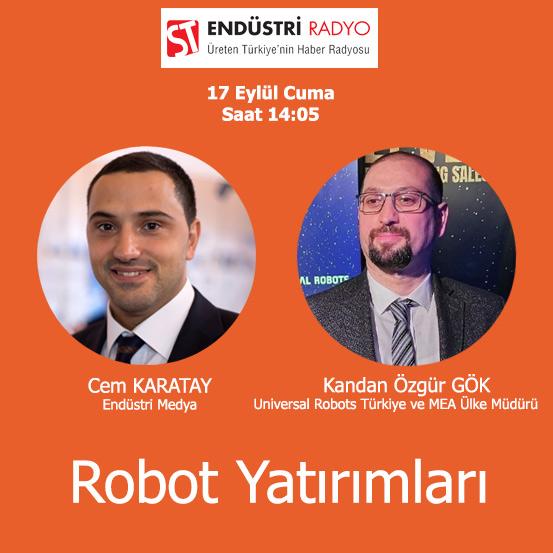Universal Robots Türkiye Ve MEA Ülke Müdürü Kandan Özgür Gök: Cobotlar