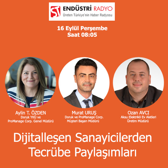 Aksu Elektrikli Ev Aletleri Üretim Müdürü Ozan Avcı: Dijitalleşme Yatırımlarıyla önemli Faydalar Elde Ettik